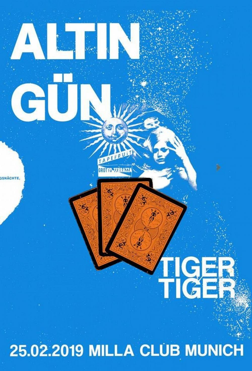 Tapefruit Konzert: Altin Gün + Tiger Tiger | 25.02.2019 @ Milla Club