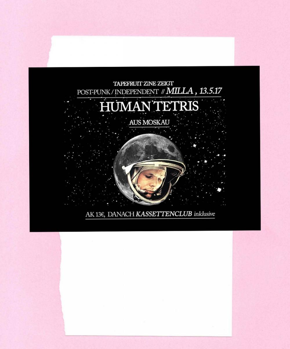 Tapefruit Konzert: Human Tetris | 13.05.2017 @ Milla Club