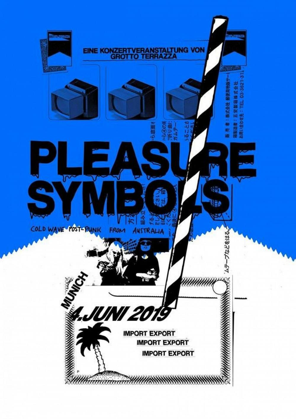 Tapefruit Konzert: Pleasure Symbols | 04.06.2019 @ Import Export