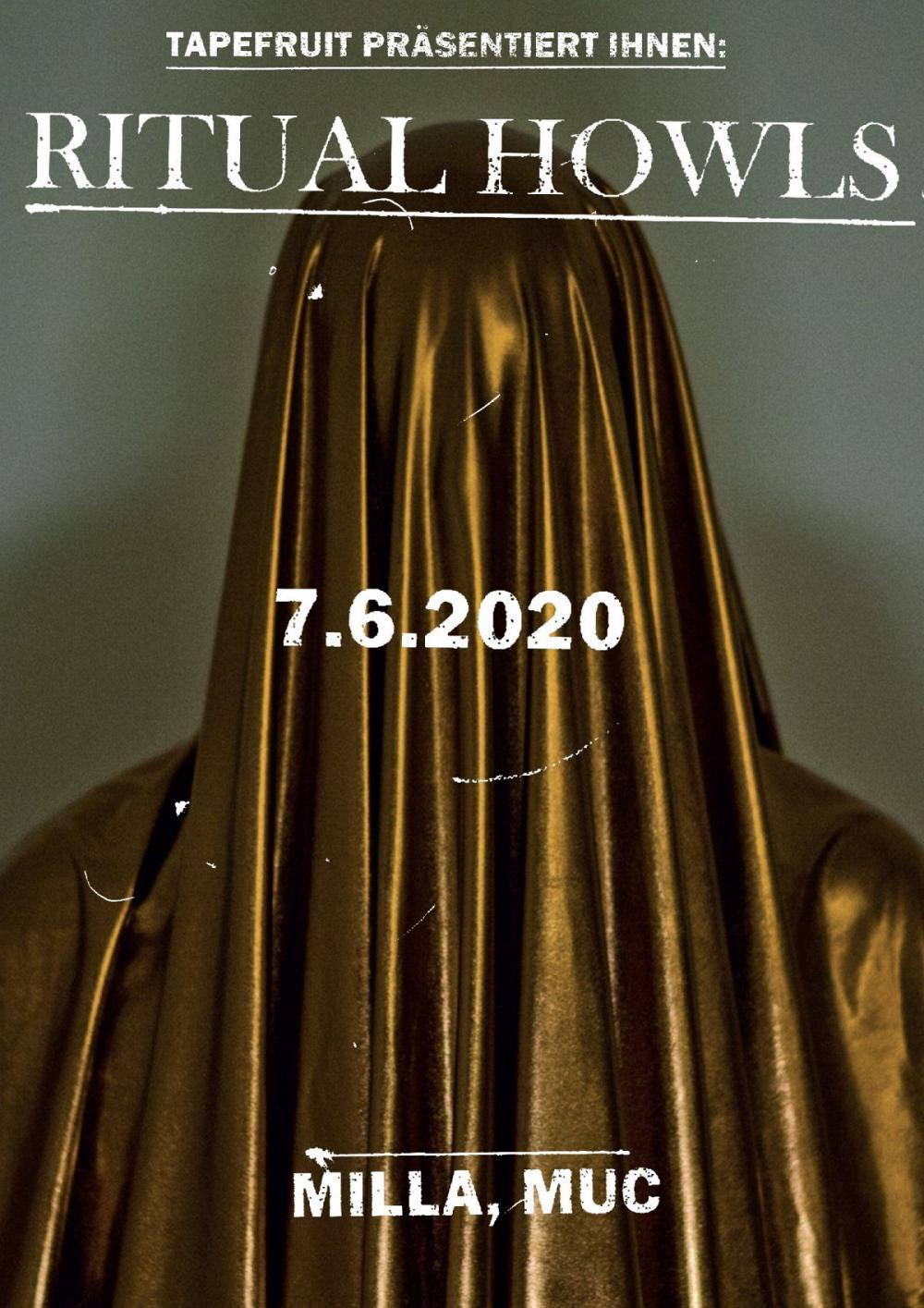 Tapefruit Konzert: Ritual Howls | 07.06.2020 @ Milla Club