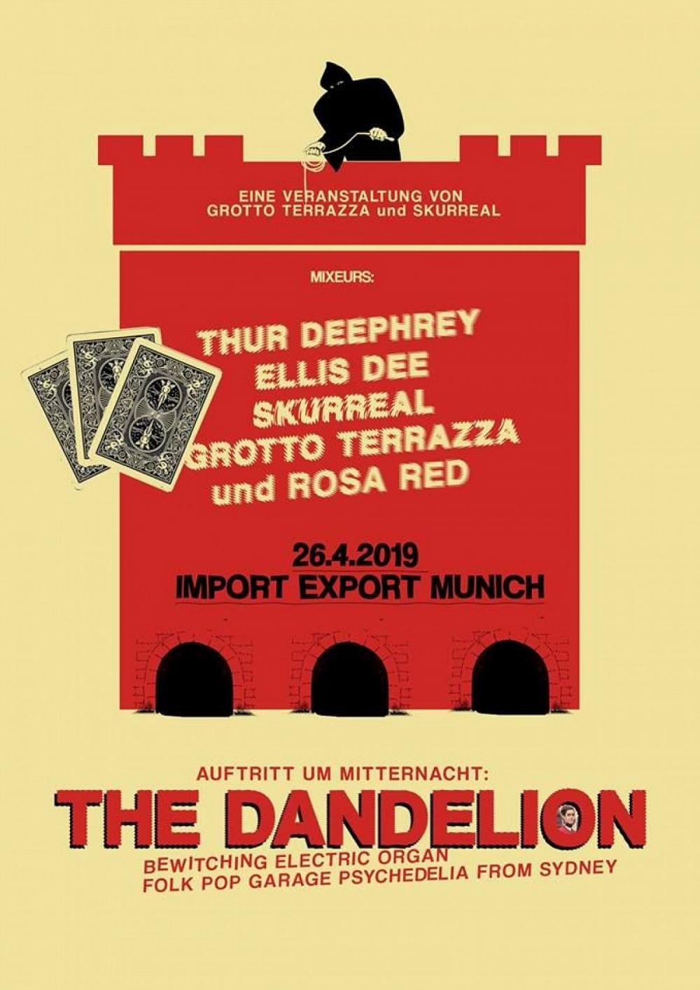 Tapefruit Konzert: The Dandelion | 26.04.2019 @ Import Export